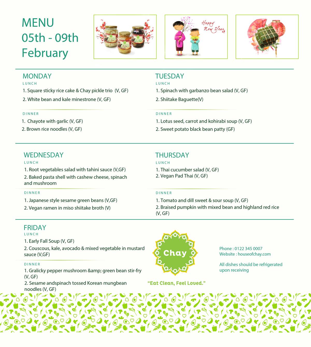 Vegetarian Delivery Healthy Menu Hochiminh