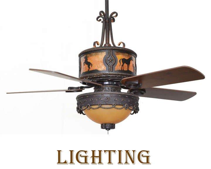 Western Lighting Kitchen Decor