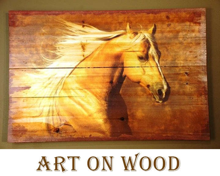 Wood Art Wild West Living