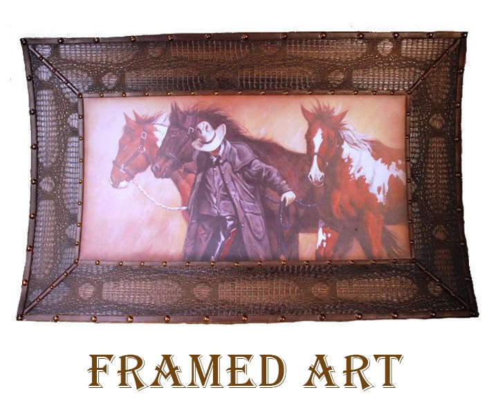 Western Framed Art