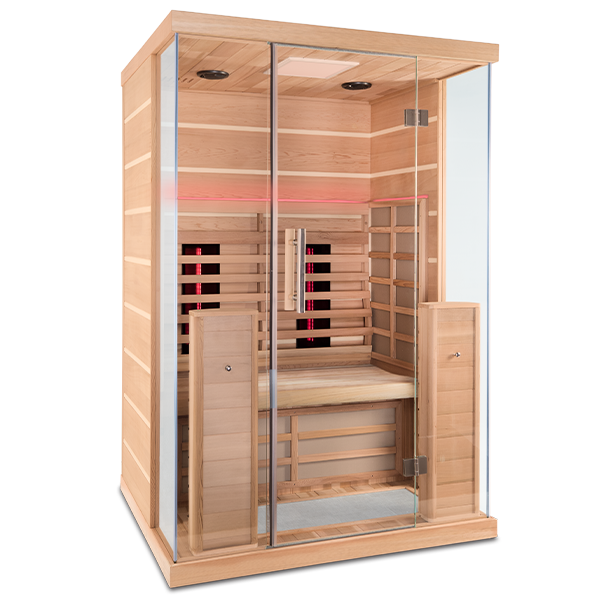 ihealth full spectrum 2 person sauna
