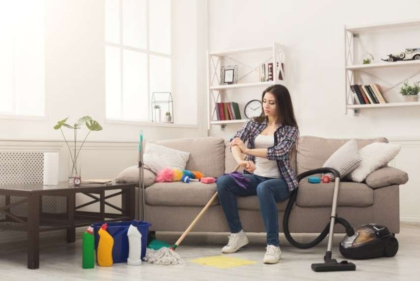 Cleaning Supplies to Clean House
