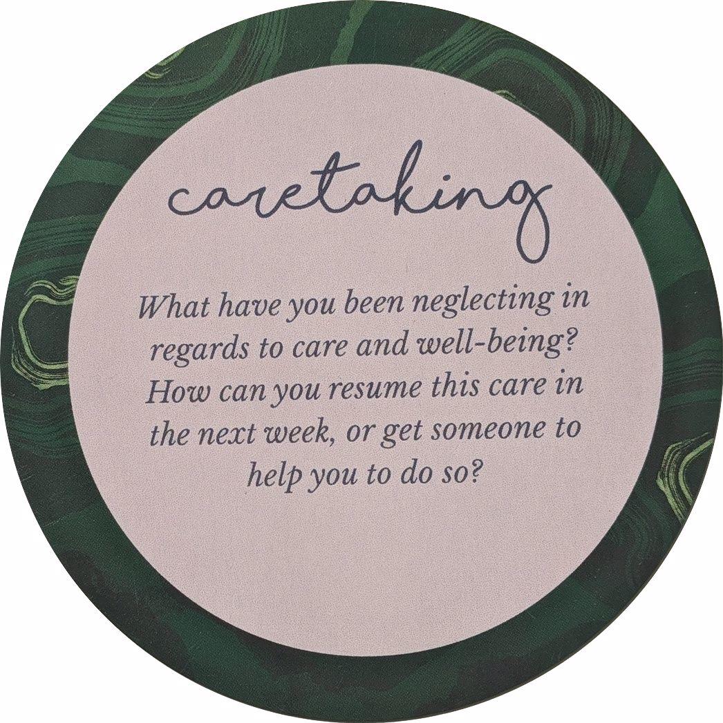 GGH Caretaking Question Card - Loss Deck