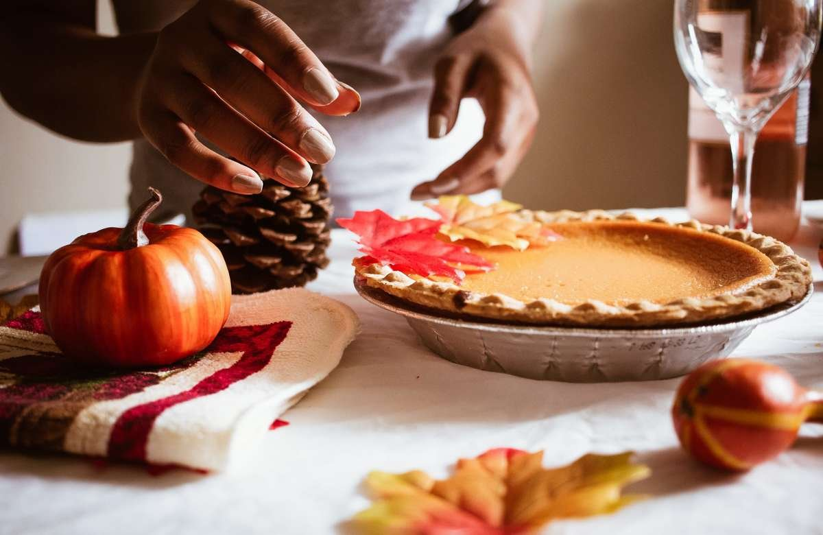 Autumn Cooking Baking Pie