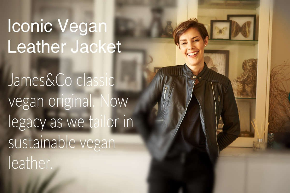 vegan leather jacket sale