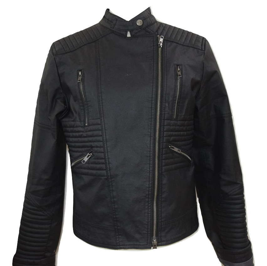 sustainable vegan leather biker