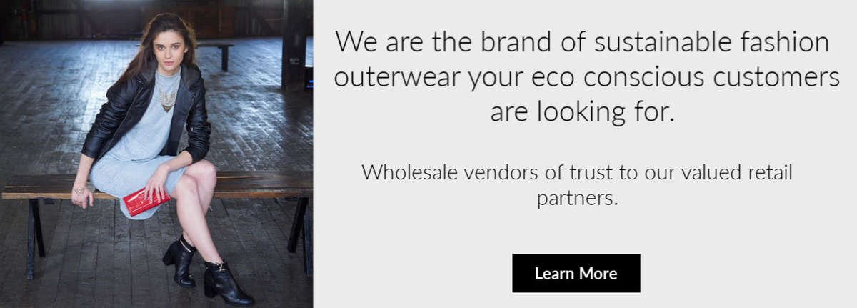 sustainable outerwear brand