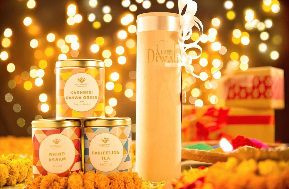 diwali gift tea boxes