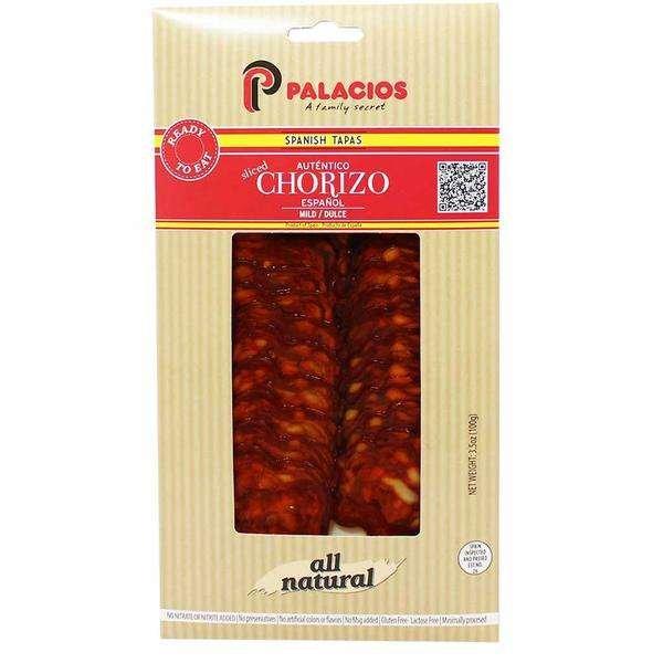 Freebie: Palacios Sliced Mild Chorizo