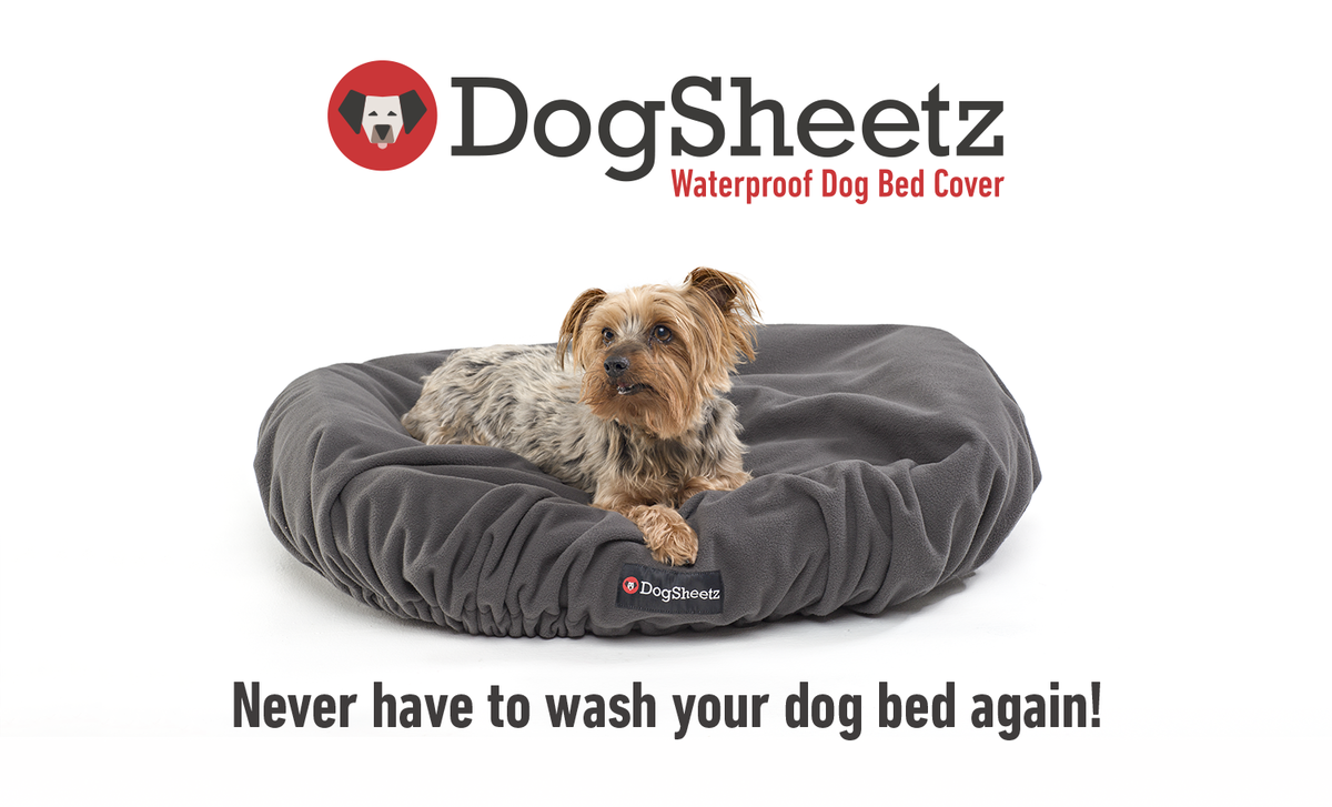 Never have to wash your dog bed again!