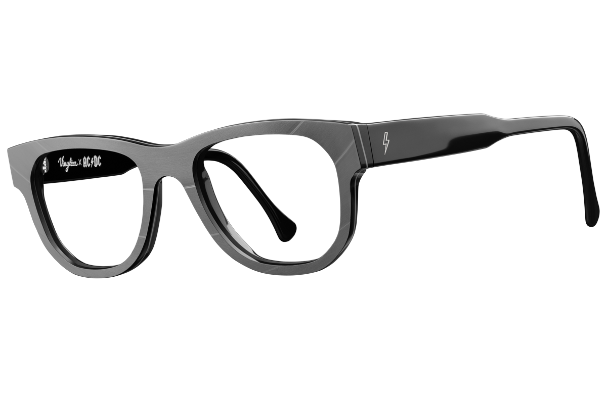 dd7c3a57e7 This uncompromising frame captures the AC DC spirit with its timeless  wayfarer shape and clean lines.