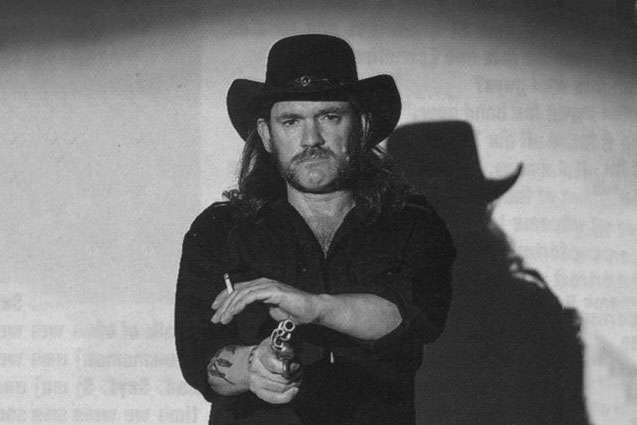 Lemmy with a gun