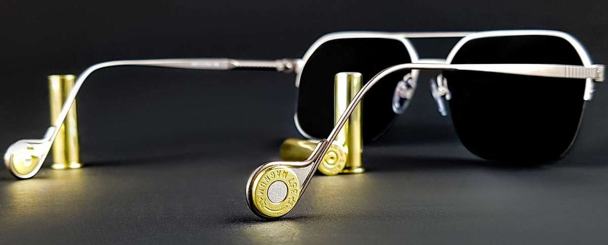 Made using authentic 357 Magnum casings.