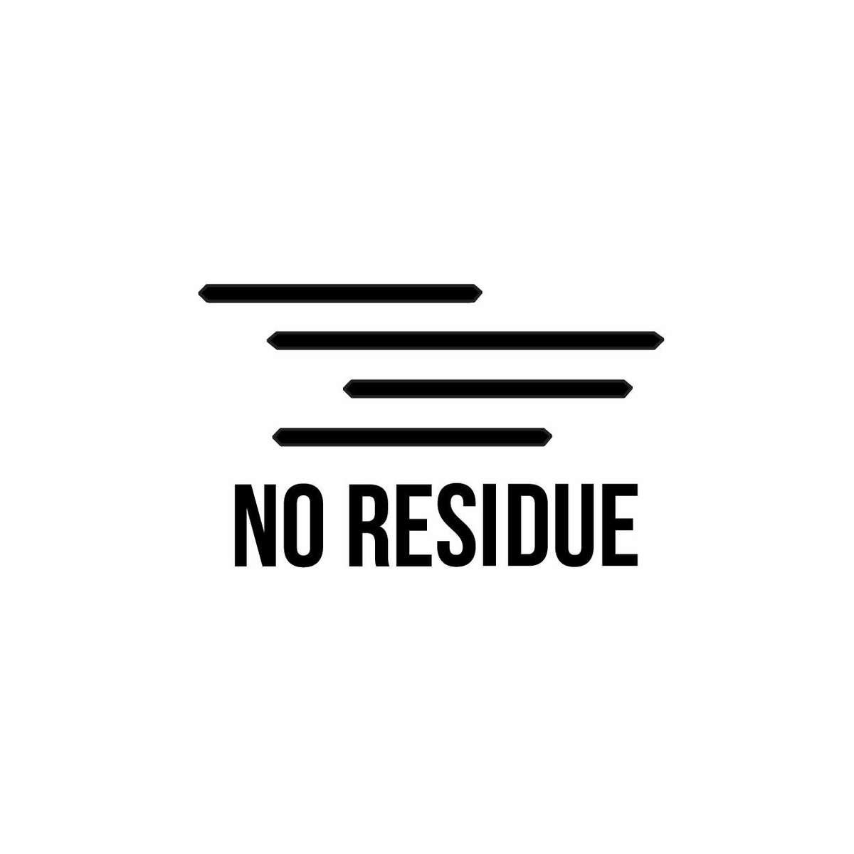 no residue tape icon