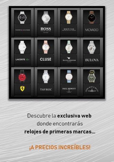 Black Vanila - tu tienda online de relojes más barato que El Corte Inglés