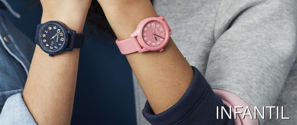Relojes lacoste para niño y niña