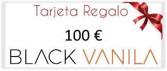 tarjeta regalo 100 euros blackvanila