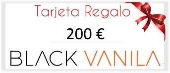 tarjeta regalo 200 euros BlackVanila