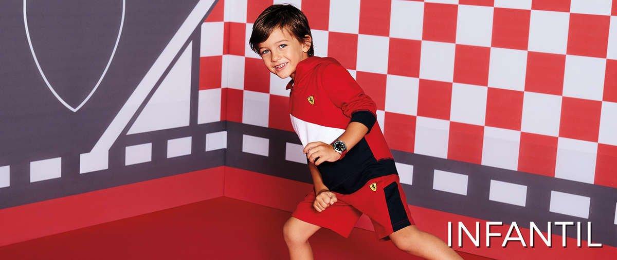 Relojes Scuderia Ferrari para niño