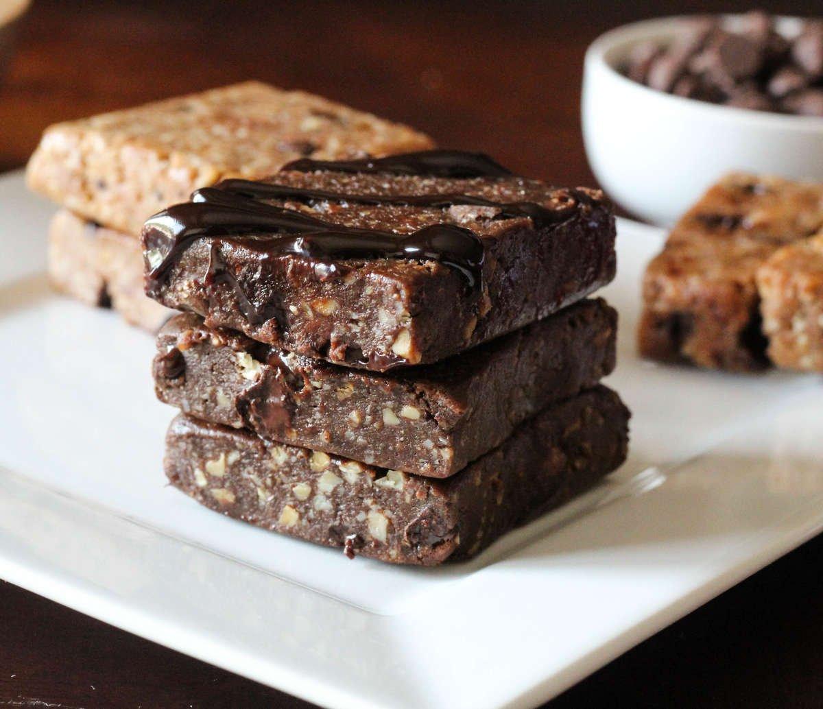 Keto Brownie Chocolate Almond