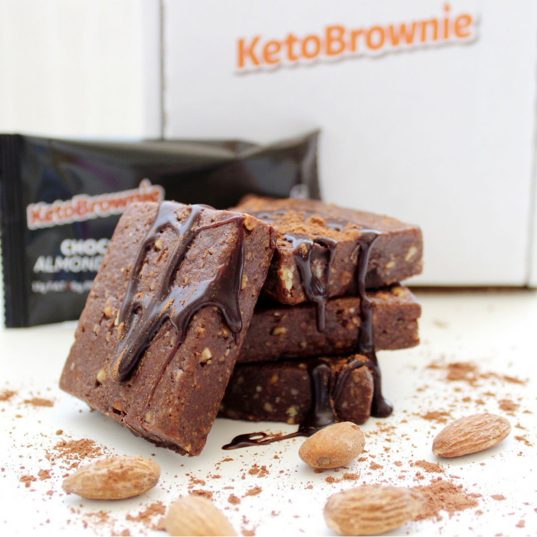 Keto Brownie Chocolate Almond
