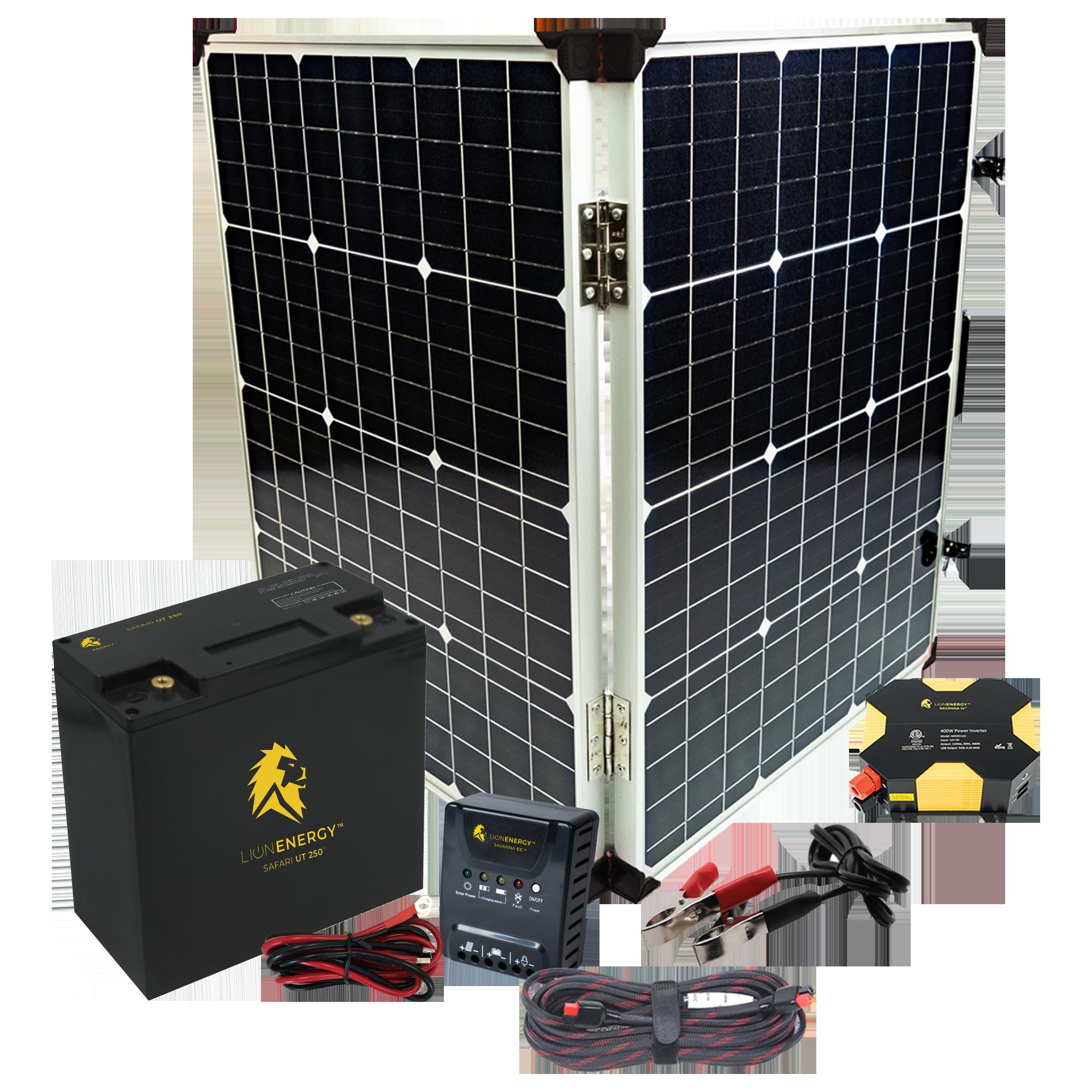 Beginner DIY Solar Power Kit