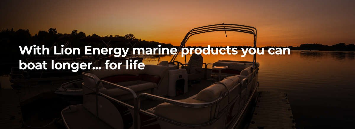 Lithium Ion Marine Batteries from Lion Energy