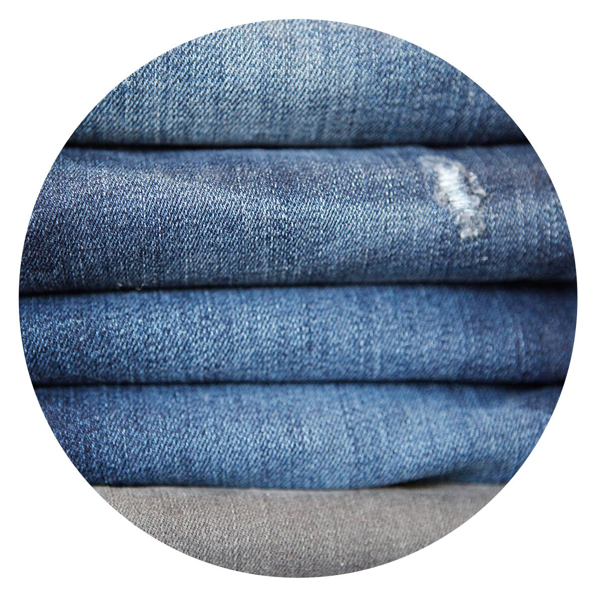 Close-Up Picture of Denim Textures