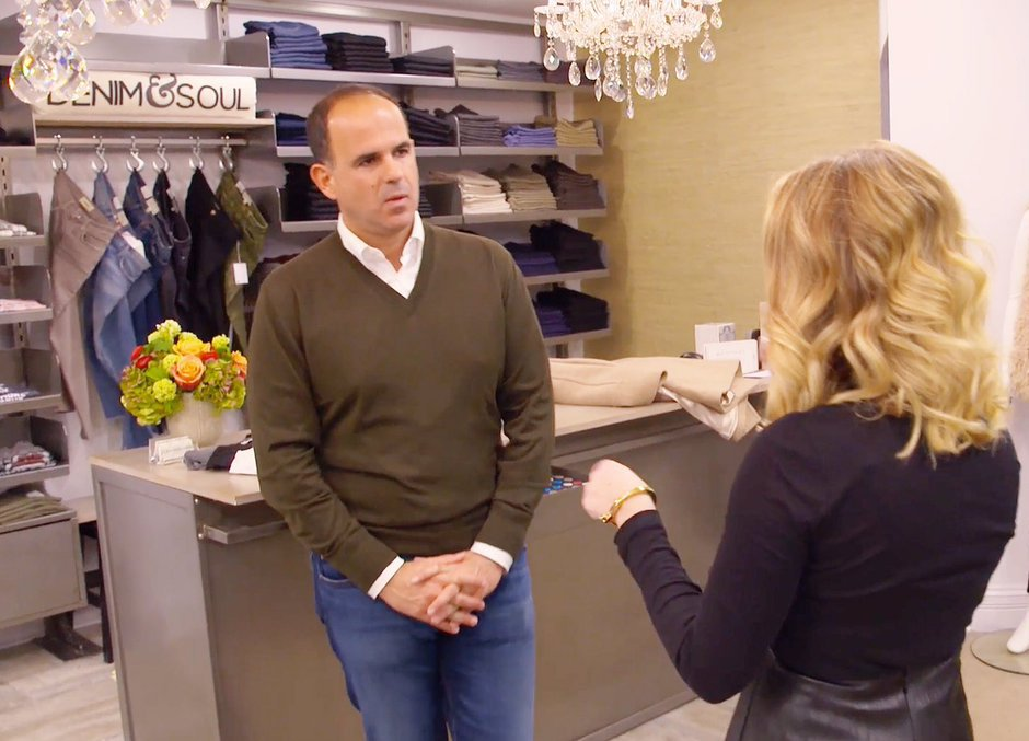 Picture of Marcus Lemonis at a Denim & Soul Store