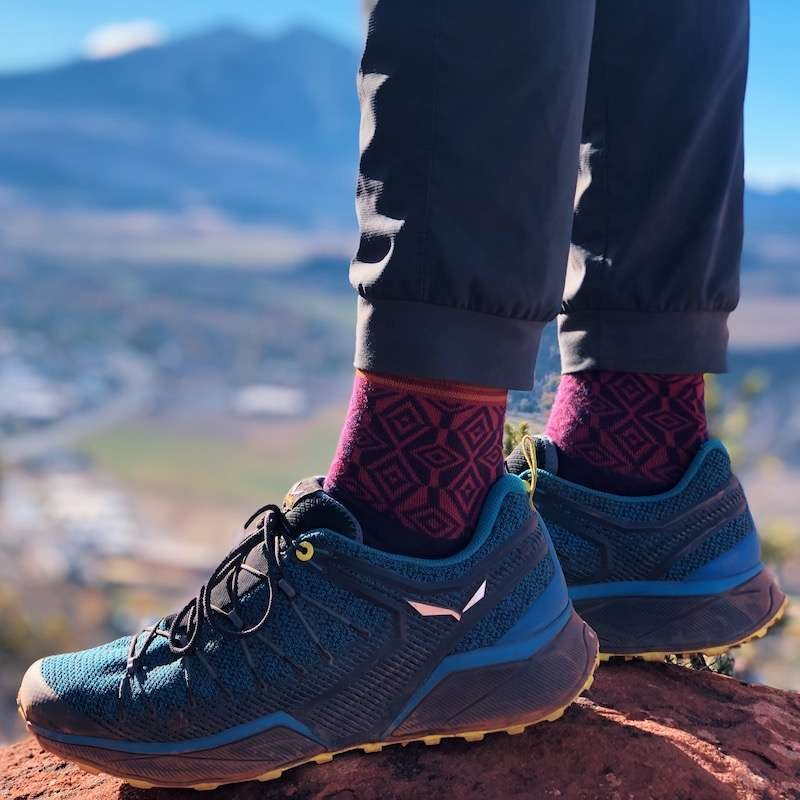 Hiking and running shoes