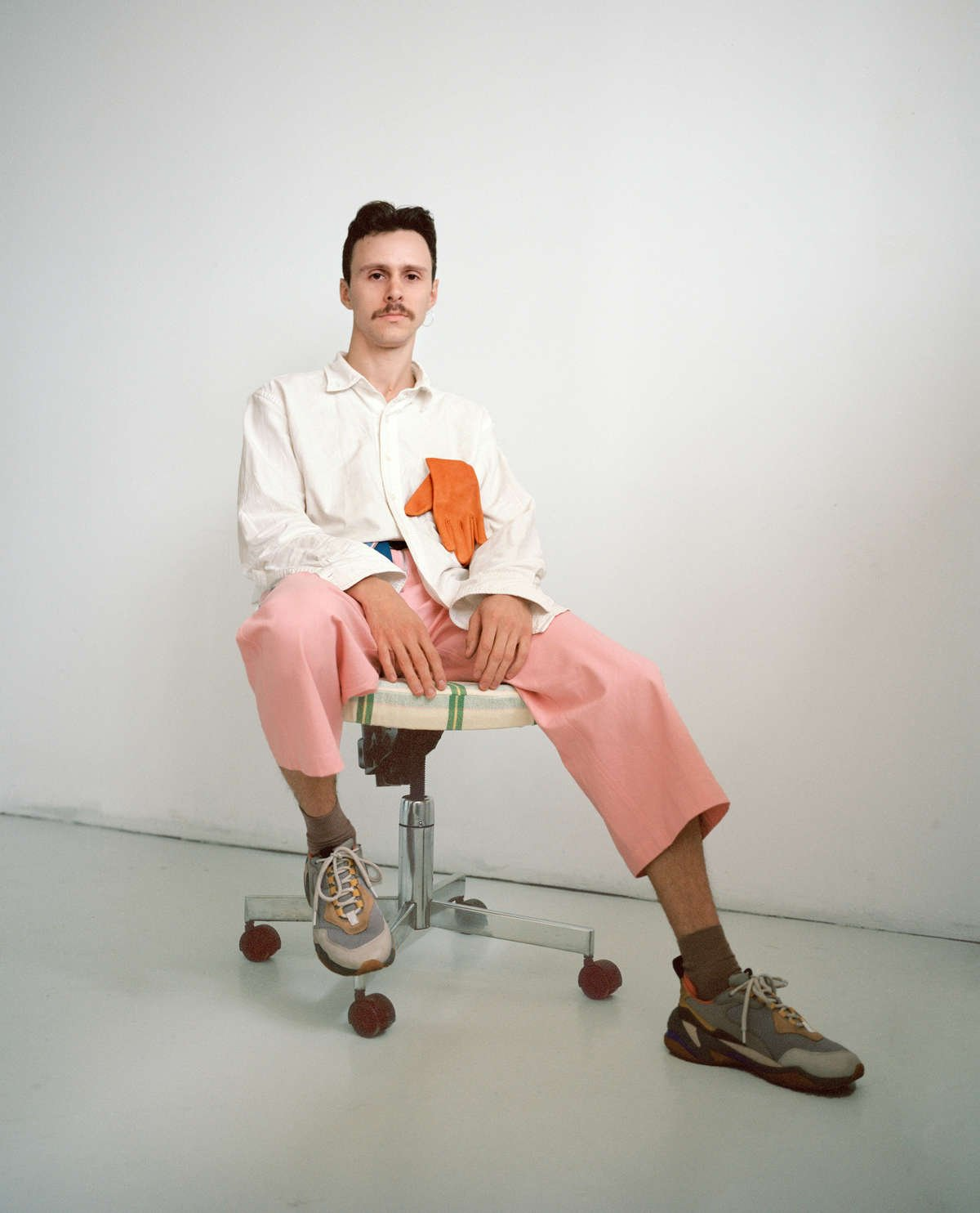 maggie jayne pink dungarees orgnaic cotton brandon brookbank hyle alden martens