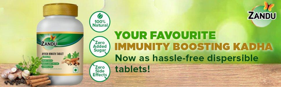 Immunity Boosting Zandu Ayush Kwath Kadha to Protect from Viral Infections