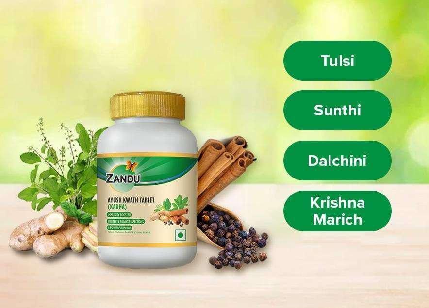Zandu Ayush Kwath Powder Ingredients