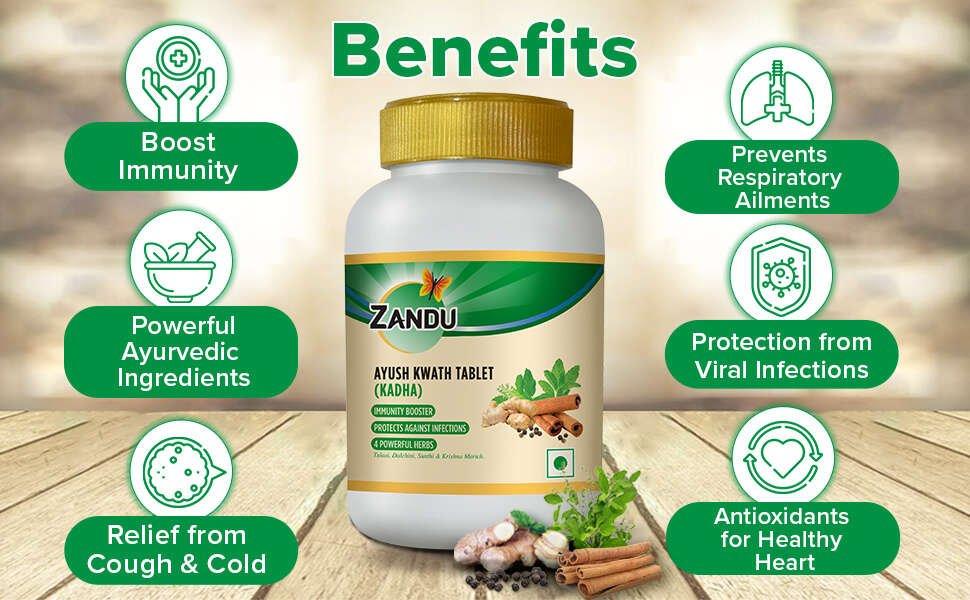 Zandu Ayush Kwath Powder Benefits