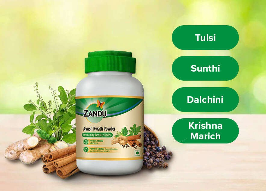 Zandu Ayush Kwath Powder Ingredients