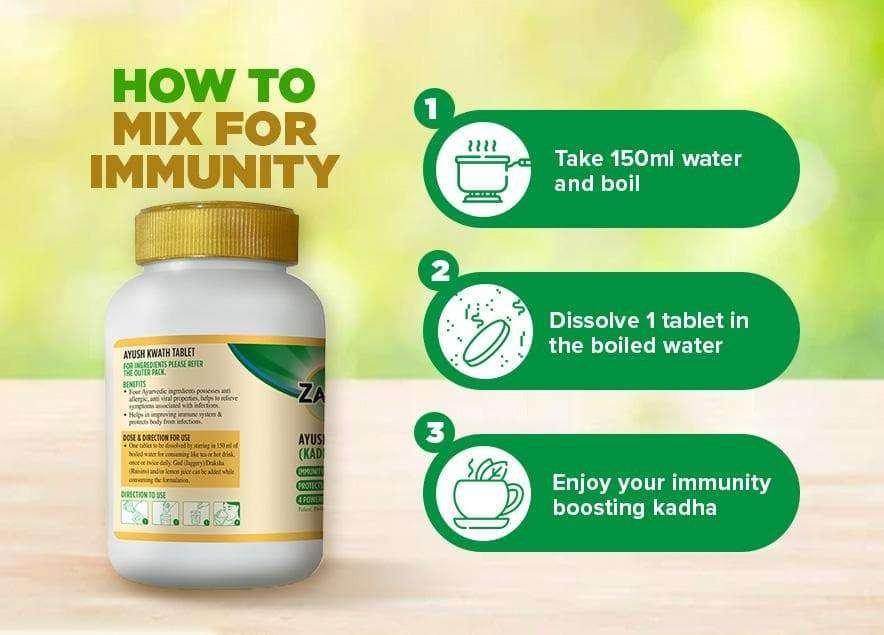 How to mix your daily immunity boosting ayush kwath kadha