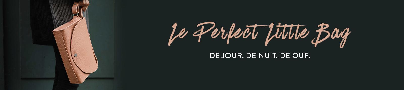 Perfect Little Bag Dymant - sac à main en cuir made in France