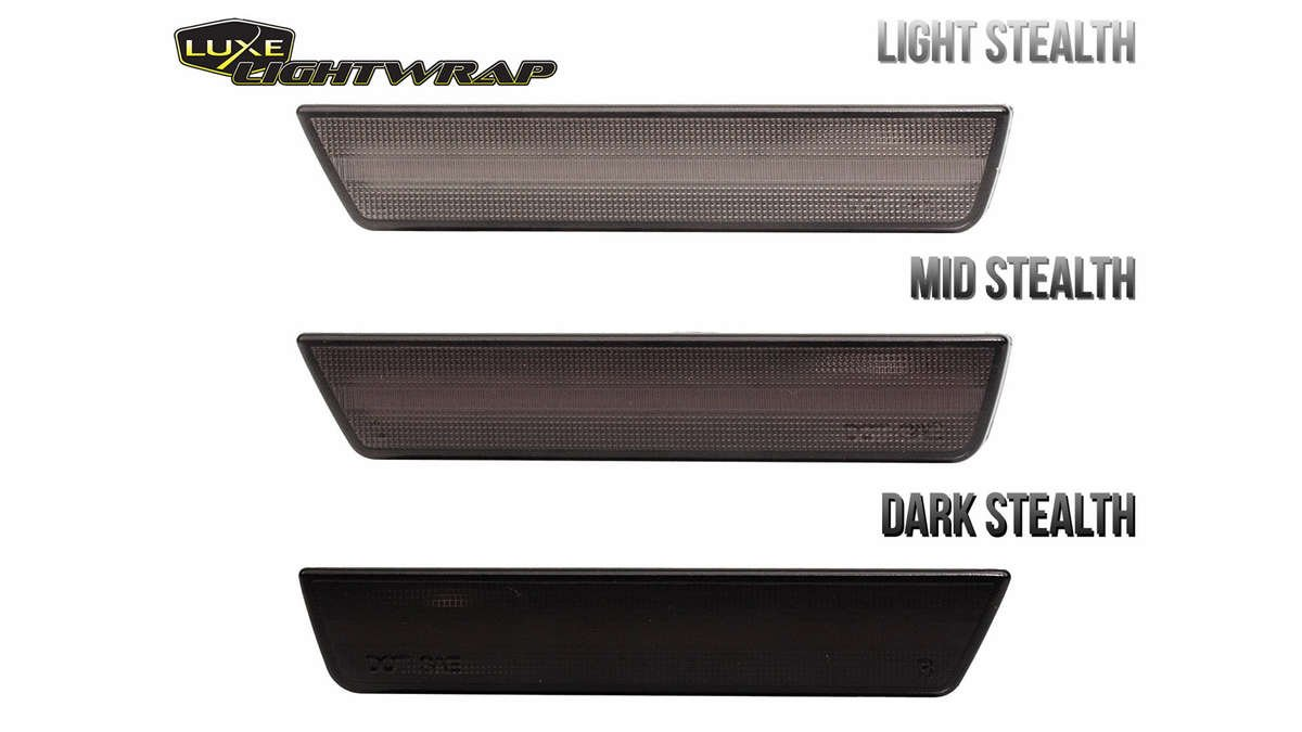 Luxe LightWrap stealth wrapped sidemarkers
