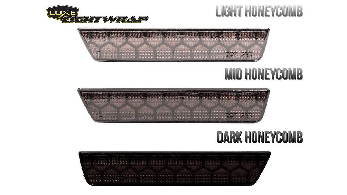 Luxe LightWrap FX Honeycomb wrapped sidemarkers