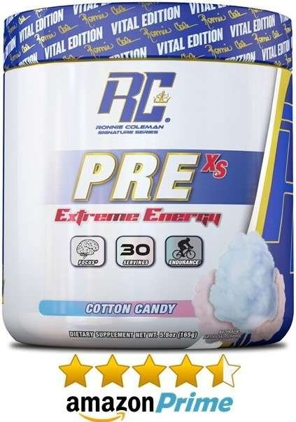 ronnie coleman pre workout energy and focus powder on amazon