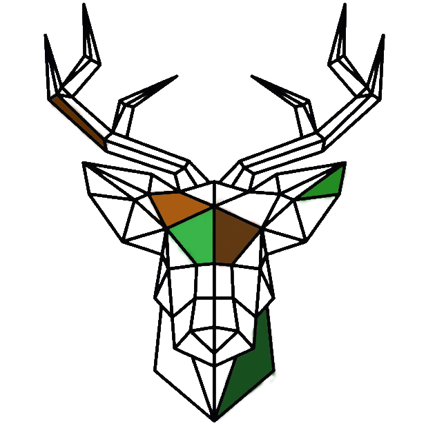 A deer icon for the rewilding collection