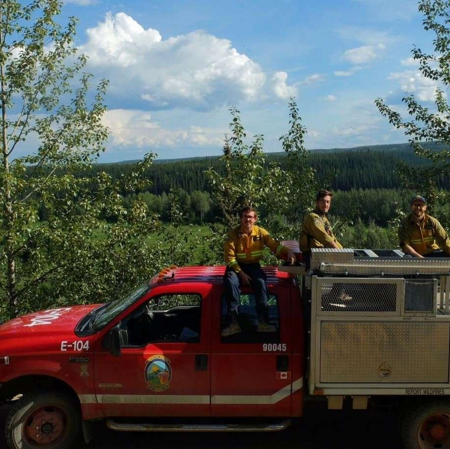 Forest Fire Fighting Team