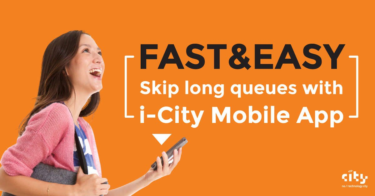 i-City Mobile App Fast and Easy