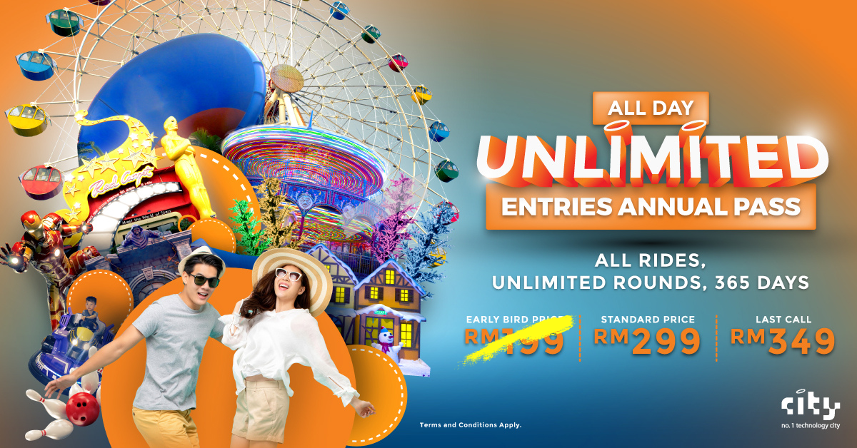 i-City All Day Unlimited Entries Annual Pass