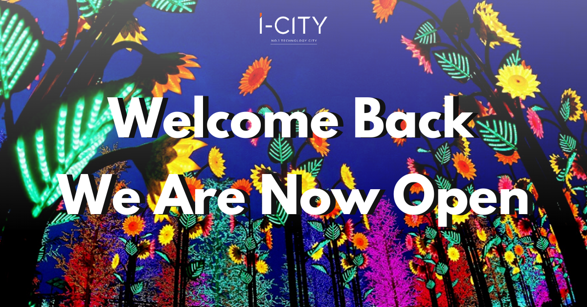 i-City Theme Park Reopeining 12062020