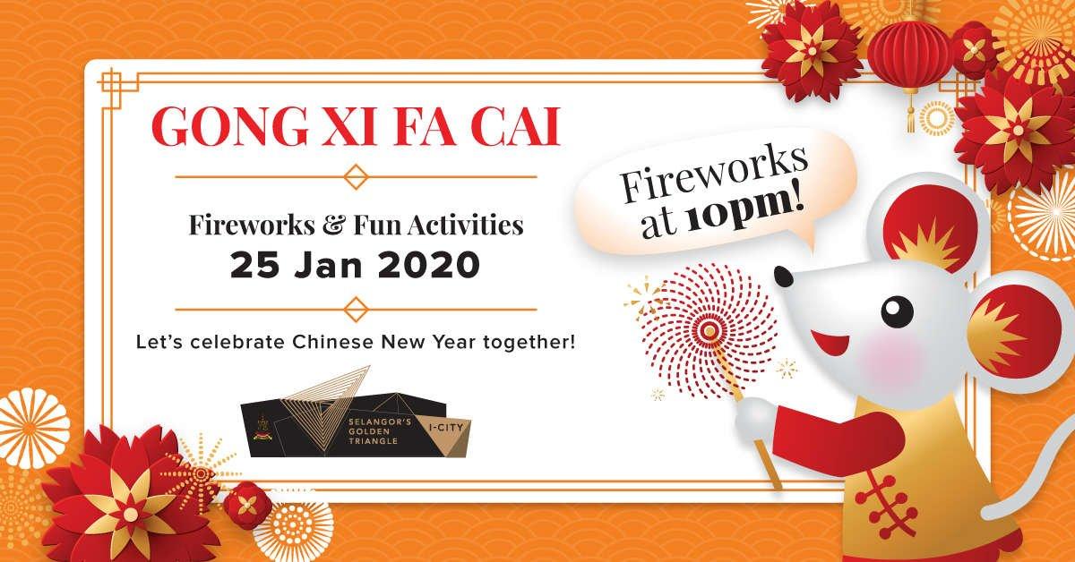 Selangor's Golden Triangle i-City Chinese New Year 2020 Celebration