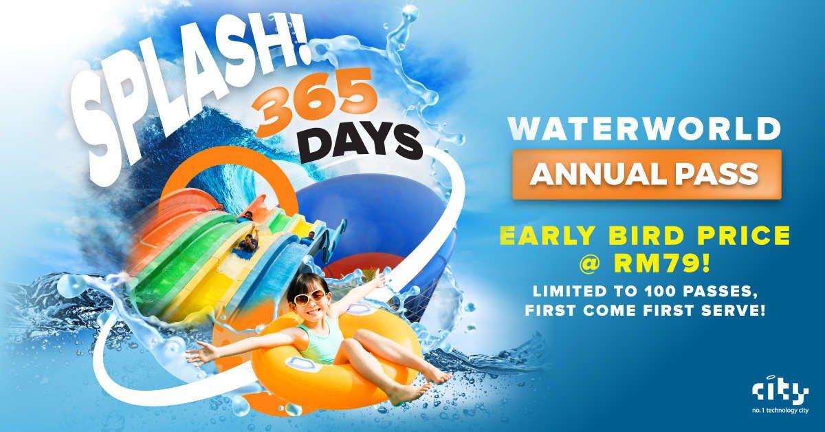 i-City WaterWorld Annual Pass