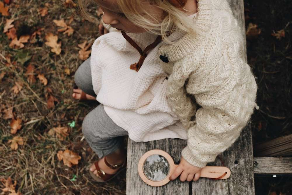 Little Forager Magnifying Glass, Rooted in Nature Set