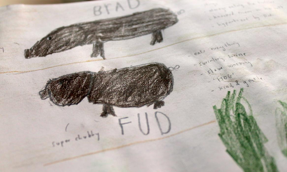 kinship family journal writing and drawing