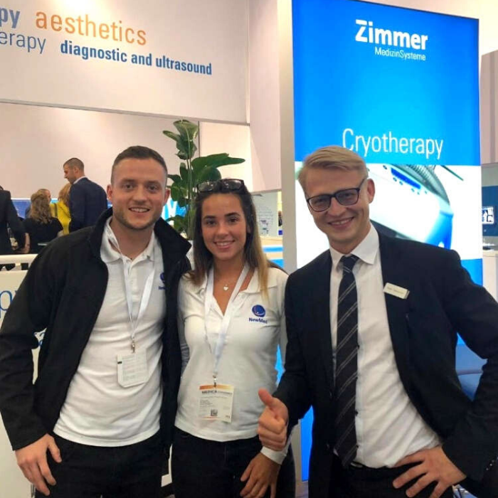 Zimmer and Newmed at Medica 2019